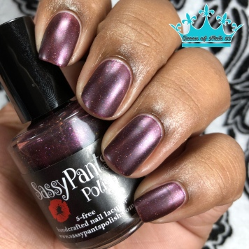 "Sassy Pants Polish - ""Stewards of the Earth"" - w/ matte tc"